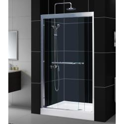 DreamLine Duet Frameless 44-48 x 72-inch Bypass Sliding Shower Door