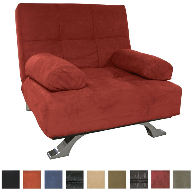 Phoenix Oversized Chair Microfiber Futon Bed Sleeper