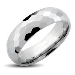 Tungsten Carbide Honeycomb Multi-faceted Ring