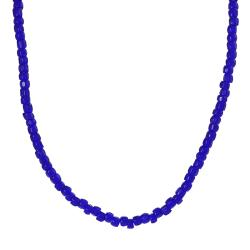 Tressa Sterling Silver Children's Blue Bead Necklace