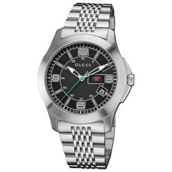 Gucci Men's 'Timeless' Stainless Steel Bracelet Quartz Watch