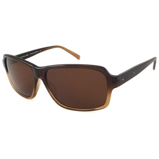 Michael Kors MKS202M Palisades Men's Unisex Rectangular Sunglasses