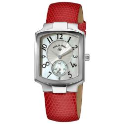 Philip Stein Women's Classic Pink Leather Strap Watch