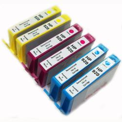 HP 920 Color Ink Cartridges (Remanufactured) (Pack of 6)