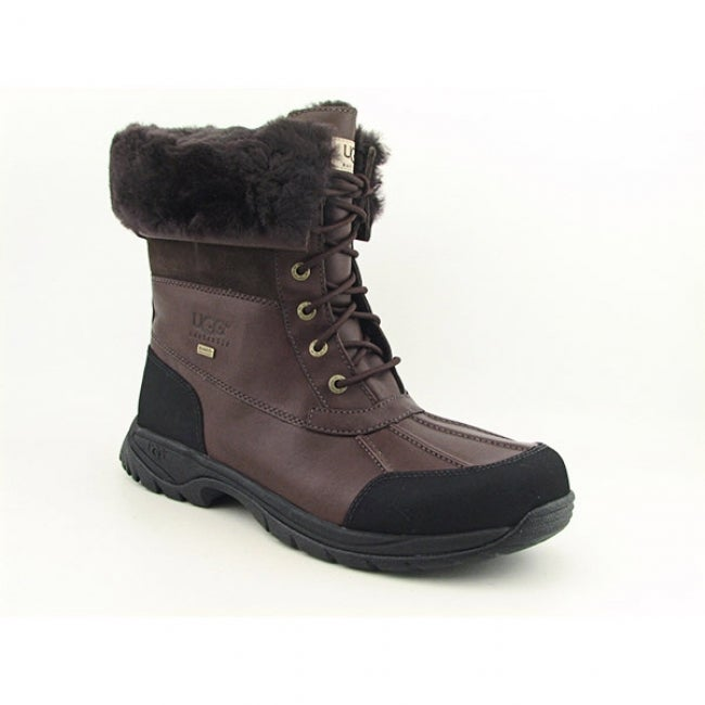 UGG Australia Men's Brown 'Butte' Winter Boots
