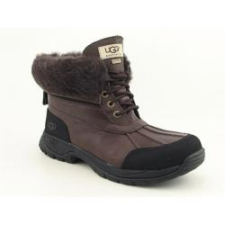 UGG Australia Men's Brown 'Hilgard' Winter Shoes