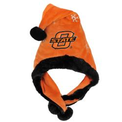 Oklahoma State Thematic Santa Hat