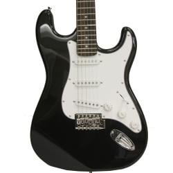 SVP dr. Tech Kids MS-X1 Distressed Tele Design Black/ White Electric Guitar