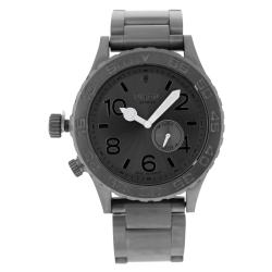 Nixon Men's A035-632 42-20 Tide Gunmetal Watch