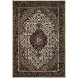 Mandara Hand-knotted Traditional Wool Rug (7'9 x 10'6)