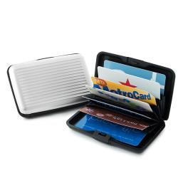 Indestructible Water Resistant Aluminum RFID Protected Wallet