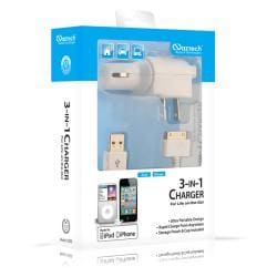 Naztech 3-in-1 iPod/ iPhone Charger