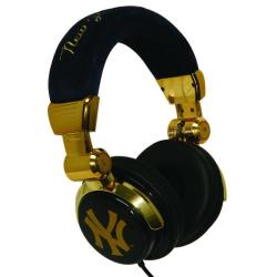 iHip New York Yankees Limited Edition Gold DJ Style Headphones
