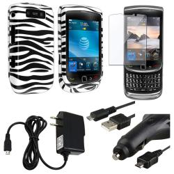 Case/ Screen Protector/ Chargers/ Cable for Blackberry Torch 9800