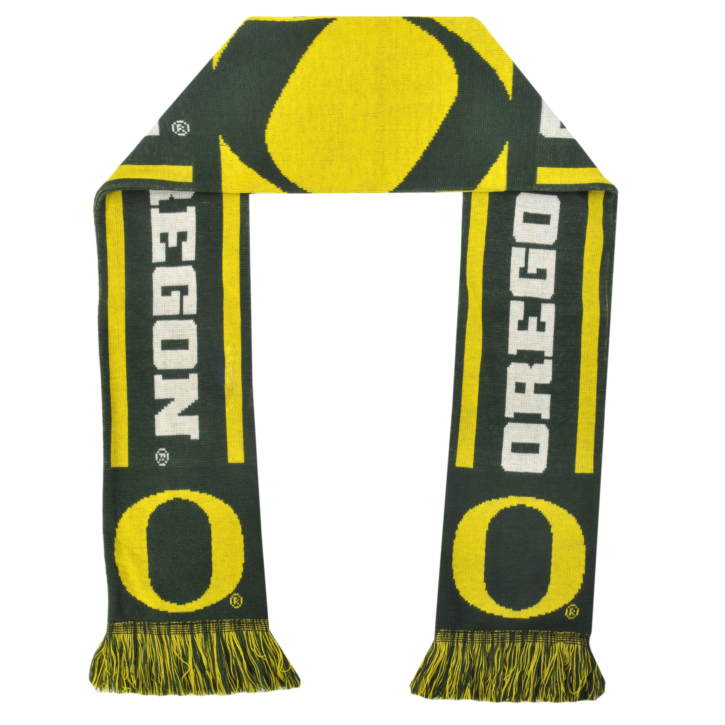 Oregon Ducks Acrylic NCAA Scarf