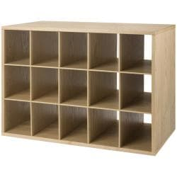 freedomRail Light Oak 'Big O-Box' Cubby