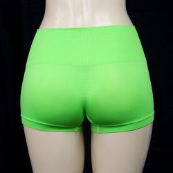 Jennifer Intimates Women's Neon Green High Waist Boyshorts