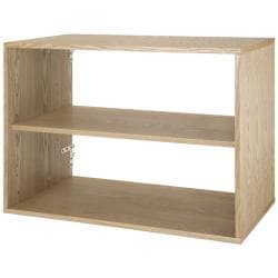 freedomRail Light Oak Big O-Box Shelf Unit