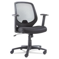 Black Mid-Back Swivel/ Tilt Mesh Chair