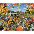 Autumn Kitties 550-piece Jigsaw Puzzle