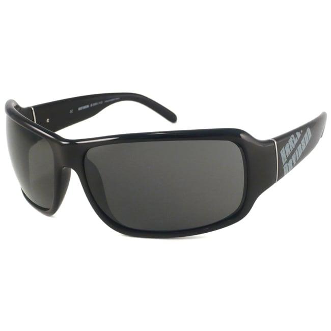 Harley Davidson HDX 809 Men's Wrap Sunglasses