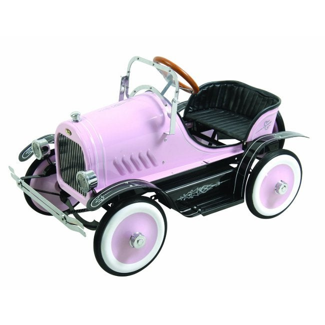 Deluxe Roadster Pink Pedal Car