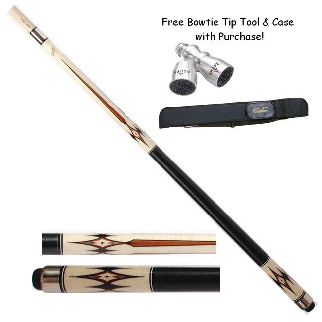 Imperial Cuetec R 360 Maple with Diamond Points Cue