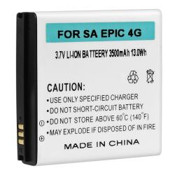 Compatible Extended Li-ion Battery with Cover for Samsung Epic 4G