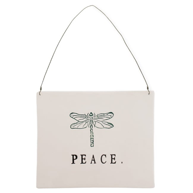 Ceramic Wall Plaque Peace