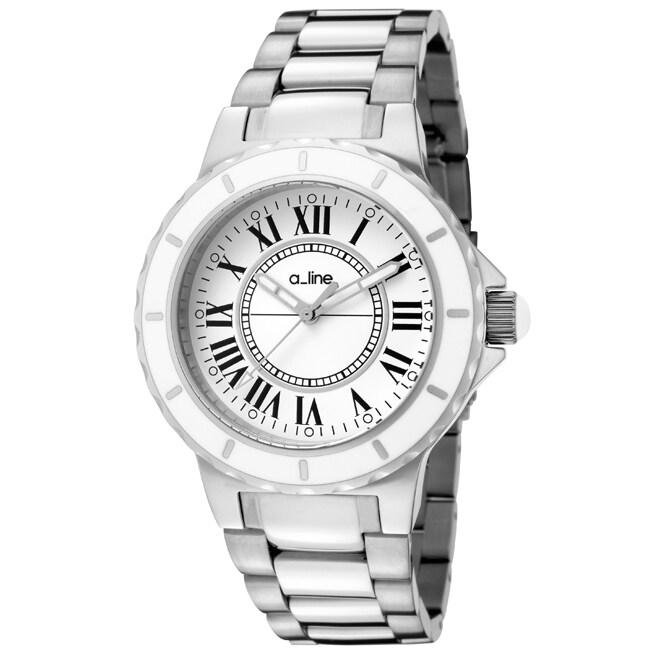 a_line Women's 'Marina' Stainless Steel Watch
