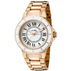 a_line Women's 'Marina' Rose Goldtone Ion-Plated Stainless Steel Watch