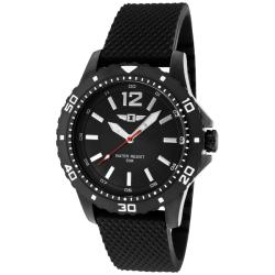 I by Invicta Men's Black Textured Silicon Watch