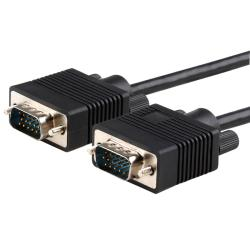 5-foot Black Premium VGA 15-pin M/M Monitor Cable
