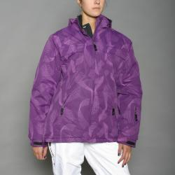 Winter Sport Women's Purple Snowboard Jacket