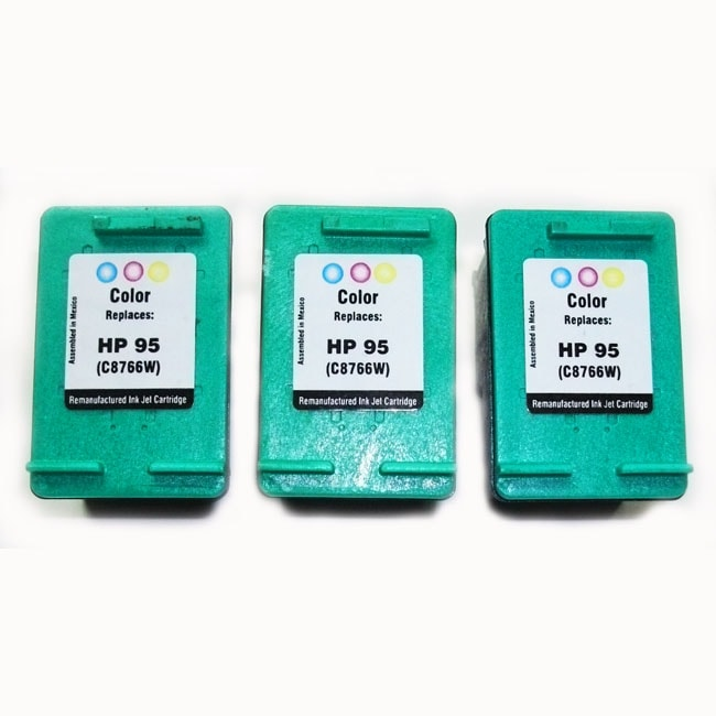 HP 95 Tri-Color Ink Cartridge Remanufactured (Pack of 3)