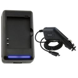 External Battery Charger/ Car Charger for BlackBerry Curve/ Tour