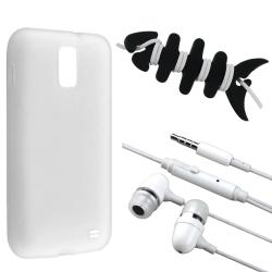 White Case/ Headset/ Wrap for Samsung Galaxy S2 Skyrocket i727