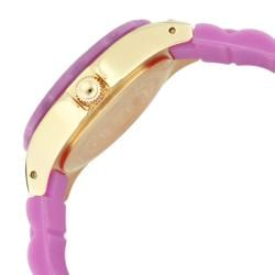 Invicta Women's 'Angel' Light Purple Polyurethane Watch