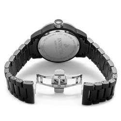 Invicta Women's 'Ceramics' Black Ceramic Watch