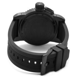 Invicta Men's 'Invicta II' Black Polyurethane Watch