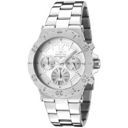 Invicta Women's 'Specialty' Stainless Steel Watch