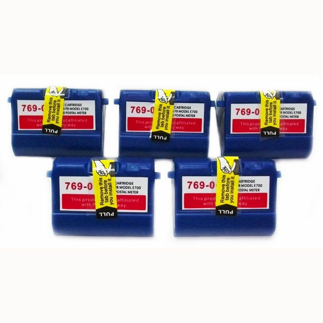 Pitney Bowes 769-0 Person Post Ink Cartridge (Pack of 5)