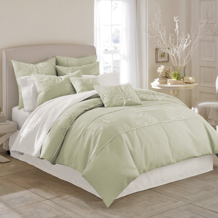 Lerba Shadow Branch 3-piece Queen-size Duvet Cover Set