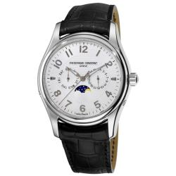 Frederique Constant Men's 'RunAbout' Silver Dial Watch