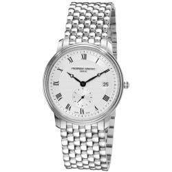 Frederique Constant Men's FC-245M4S6B 'Slim Line' Stainless Steel Watch