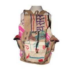 Natural Jute Backpack
