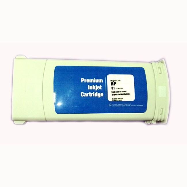 HP 81 Light Magenta Ink Cartridge (Remanufactured)