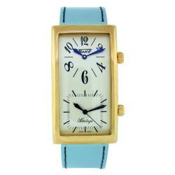 Tissot Men's T56563339 'Heritage' Blue Leather Watch