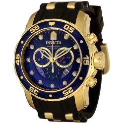 Invicta Men's 'Pro Diver' Black Strap Watch