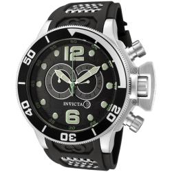 Invicta Men's 'Corduba' Dark Grey Chronograph Watch